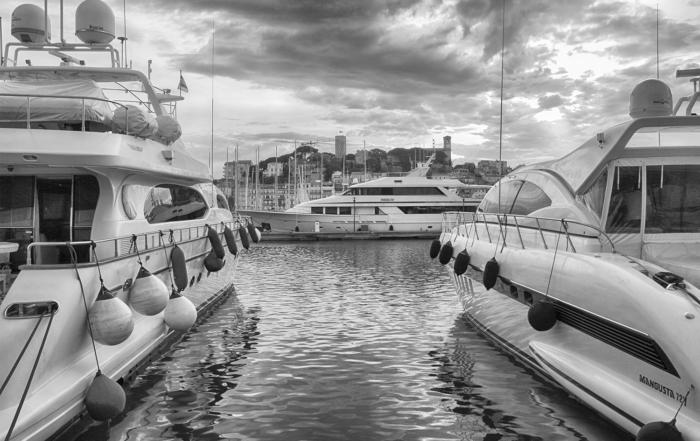 yachts baie de cannes
